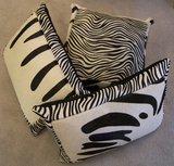 Koehuid met zebraprint mix c_