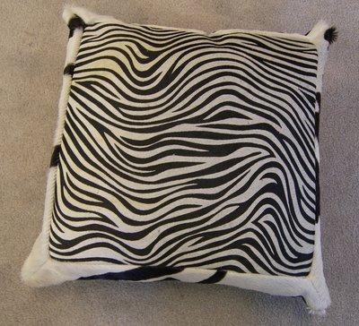 Koehuid met zebraprint mix c