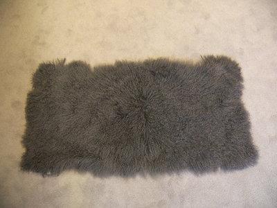 Tibetlam plaid grijs