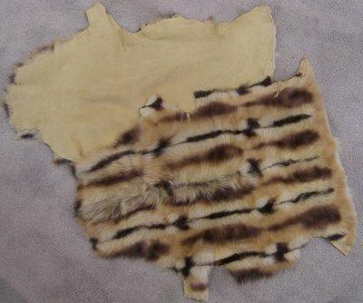 Toscaans lam beige/bruin
