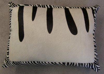 Koehuid met zebraprint mix a